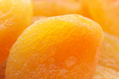 Dried apricots close-up Royalty Free Stock Photos