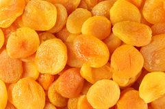 Dried apricots close-up Stock Photos