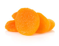 Dried apricots close-up Royalty Free Stock Images