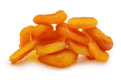 The dried apricots Royalty Free Stock Photo