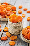 Dried apricots Stock Images