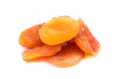 Dried apricots fruit Stock Image