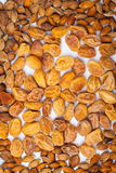 Dried apricots. Natural Dried apricot with a bone in a lot of useful sweet dessert royalty free stock image