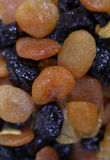 Dried apricots and prunes Royalty Free Stock Photos