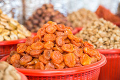 Dried apricots Royalty Free Stock Photo