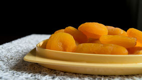 Dried apricots. Vegetarian product, dessert Royalty Free Stock Images