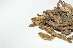 Dried Averrhoa bilimbi Royalty Free Stock Image