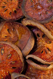 Dried Bael Fruit royalty free stock photography