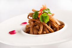 Dried bamboo shoots Stock Photography