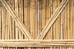 Dried bamboo wall textured Royalty Free Stock Images