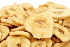 Dried banana chips Royalty Free Stock Photography