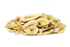 Dried banana chips Royalty Free Stock Photography