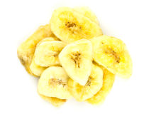 Dried banana Stock Images