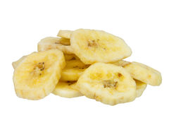 Dried banana Stock Image