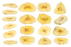 Dried banana Royalty Free Stock Photos
