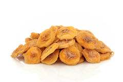Dried Banana Fruit Snack Royalty Free Stock Photography