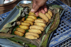 Dried banana Stock Photography