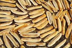 Dried bananas Stock Image