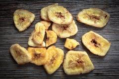 Dried bananas slice Stock Image