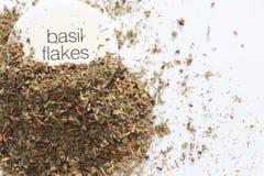 Dried basil Royalty Free Stock Image