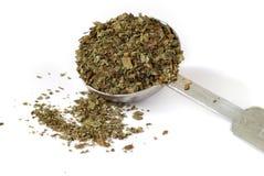 Dried Basil Leaf Royalty Free Stock Image
