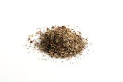 Dried basil seasoning Royalty Free Stock Photography