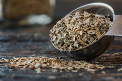 Dried basil Stock Photography
