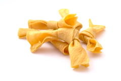 Dried bean curd knots royalty free stock photo