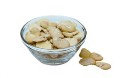 Dried beans in bowl Royalty Free Stock Photography