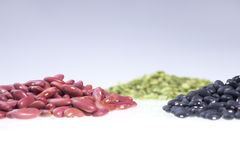Dried beans and peas. Stock Photos