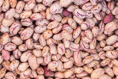 Dried beans on sale at Market Stock Photography