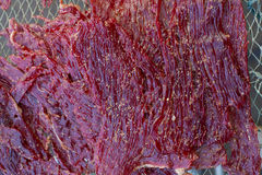 Dried beef Stock Photography