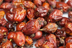Dried berries rose hips Royalty Free Stock Images