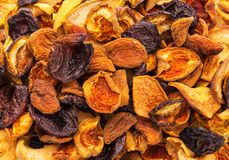Dried bits of  fruits Stock Image