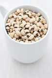 Dried black eye beans Royalty Free Stock Image