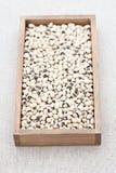 Dried black eye beans Royalty Free Stock Photo