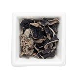 Dried black fungus Stock Photo