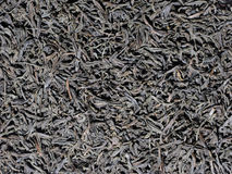 Dried black tea leaves texture Royalty Free Stock Images