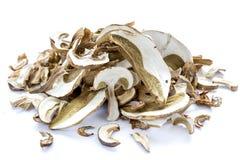 Dried boletus mushrooms Royalty Free Stock Image