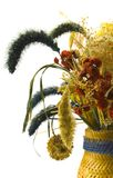 Dried bouquet. In vase close-up Royalty Free Stock Image
