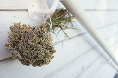 Dried bouquet of wild flowers Royalty Free Stock Photos