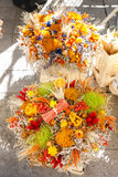 Dried bouquets Royalty Free Stock Images