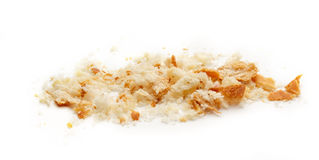 Dried bread crumbs Royalty Free Stock Photos