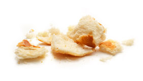 Dried bread crumbs Royalty Free Stock Image