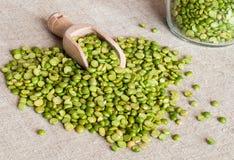 Dried broken peas Royalty Free Stock Photo