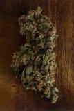 Dried cannabis marijuana buds Stock Photos