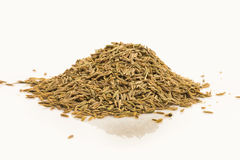 Dried caraway fruits (often termed caraway seeds) Royalty Free Stock Photos