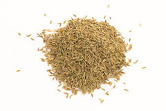 Dried caraway fruits (often termed caraway seeds) Royalty Free Stock Photography