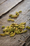 Dried cardamom pile Royalty Free Stock Photo
