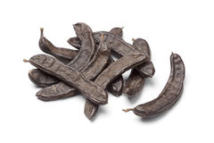 Dried Carob pods Stock Photo